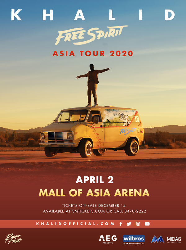 Khalid 'Free Spirit' Asia Tour 2020
