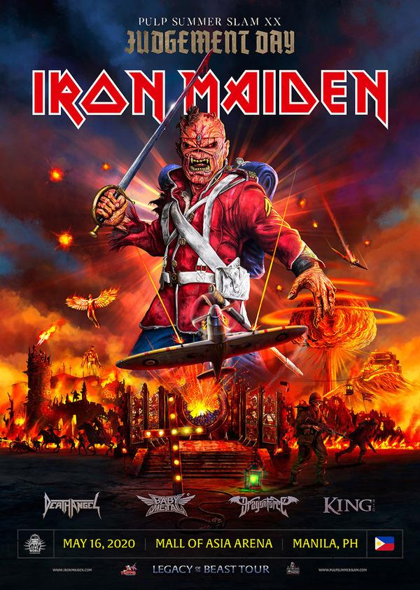 Pulp Summer Slam XX: Judgement Day - Iron Maiden
