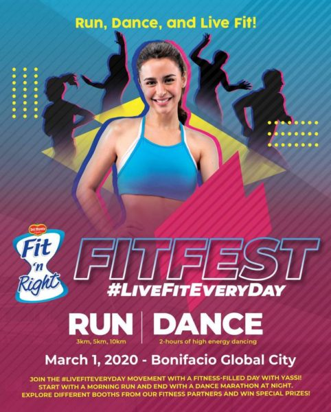 Del Monte Fit 'n Right Fitfest 2020 3/5/10K