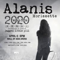 Alanis Morissette 'Jagged Little Pill' World Tour 2020