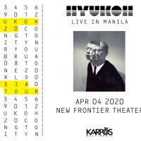 Hyukoh Live in Manila