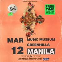 Ruel 'Free Time' World Tour in Manila