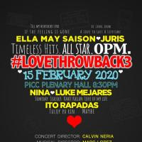 Timeless Hits - All Star OPM #LOVETHROWBACK3