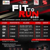 Fit to Run 2020 Bacolod