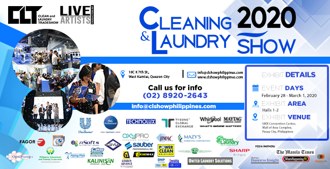 Cleaning and Laundry Show 2020