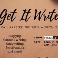 Get It Write: FVA | Ark8tke Writer's Workshop