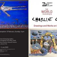 THE WORLD ACCORDING TO CHARLIE CO Drawings and Works on Paper