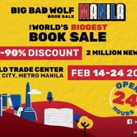 The Big Bad Wolf Book Sale Manila 2020's Safety Measures In Light Of The Spread Of The Corona Virus