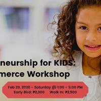 Entrepreneurship for KIDS: E-commerce Workshop