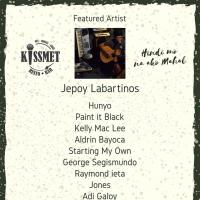 JEPOY LABARTINOS AT KISSMET RESTO BAR