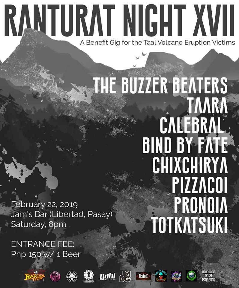 RANTURAT NIGHT XVII AT JAM'S RESTO & DISCO BAR