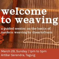 Welcome to Weaving Workshop