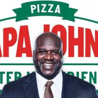 Basketball Superstar Legend Shaquille O'Neal Loves Papa John's Pizza