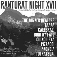 RANTURAT NIGHT XVII AT JAM'S RESTO & DISCO BAR