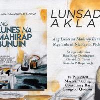 """LIRAHAN: LUNSAD-AKLAT NG """"ANG LUNES"""" NI NICK PICHAY AT CONSPIRACY GARDEN CAFE"""