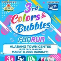 Colors and Bubbles Fun Run 2020 3/5/10K