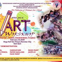 FREE ART WORKSHOP by: SK CHAIRMAN ALJOHN GRUTAS AND SK COUNCIL