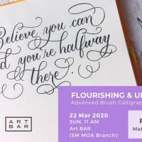 Flourishing & Uppercase Calligraphy