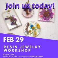 Resin Jewelry Workshop