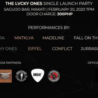 THE LVCKY ONES SINGLE LAUCH AT SAGUIJO CAFE + BAR EVENTS