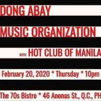 DONG ABAY MUSIC ORGANIZATION AT THE 70'S BISTRO