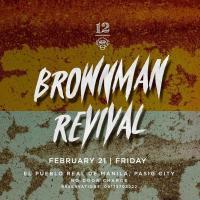 BROWNMAN REVIVAL AT 12 MONKEYS MUSIC HALL & PUB