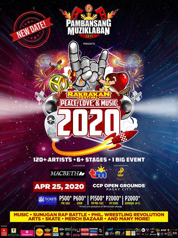 Rakrakan Festival 2020: Peace, Love & Music