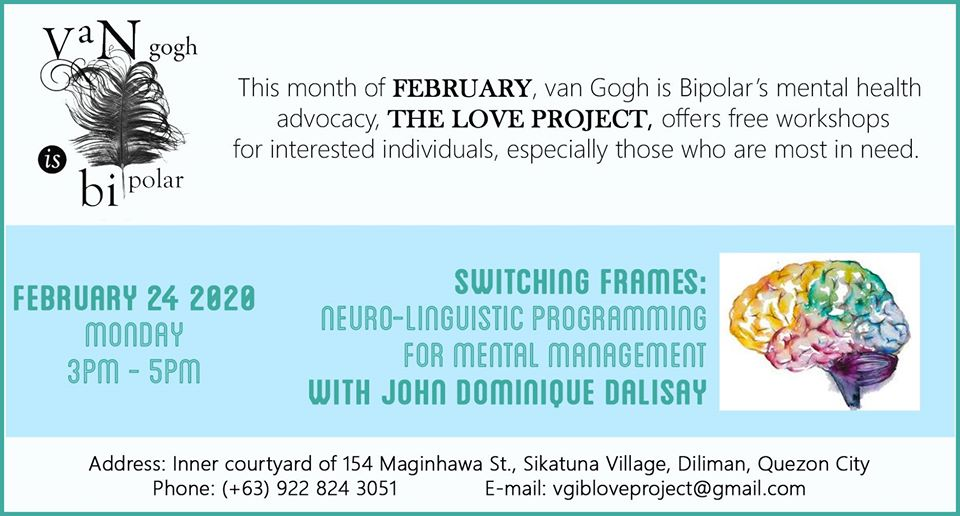 The Love Project   Switching Frames:Neuro-Linguistic Programming