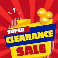 Below SRP Super Clearance Sale