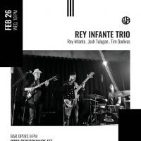 THE REY INFANTE TRIO AT TAGO JAZZ CAFE