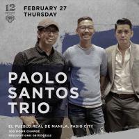 PAOLO SANTOS TRIO AT 12 MONKEYS MUSIC HALL & PUB