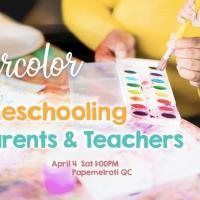 Watercolor for Homeschooling Parents and Teachers