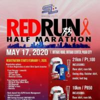 Red Run Half Marathon 2020 3/5/10/21KM