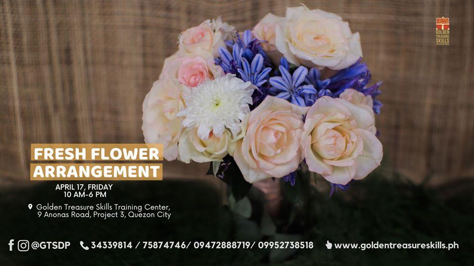 Fresh Flower Arrangement Seminar