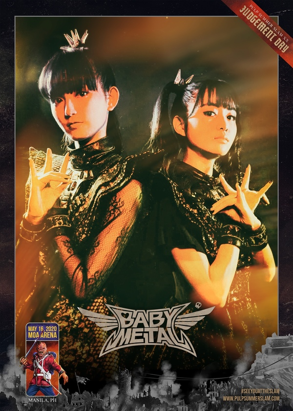 BABYMETAL To Perform in Manila as Part of Pulp Summer Slam XX: Judgement Day