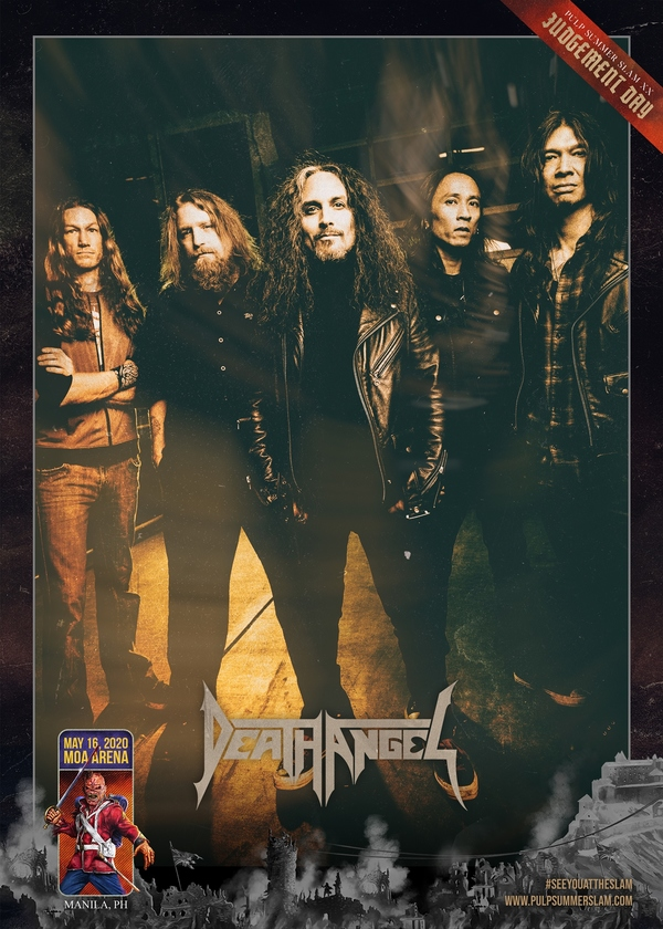 Death Angel To Return to the Pulp Summer Slam Stage