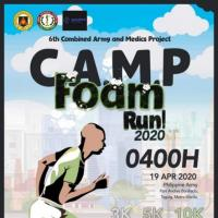 C.A.M.P. Foam Run 2020 1/3/5/10KM