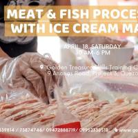 Meat and Fish Processing with Ice Cream Making - Weekend