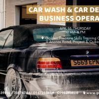 Car Wash and Car Detailing Business Operation Seminar - Weekday