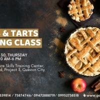 Pies and Tarts Baking Class - Weekday Class
