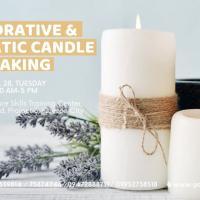 Decorative and Aromatic Candle Making Seminar - Weekday