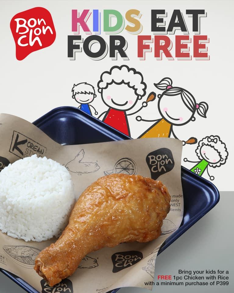 BONCHON KIDS EAT FOR FREE