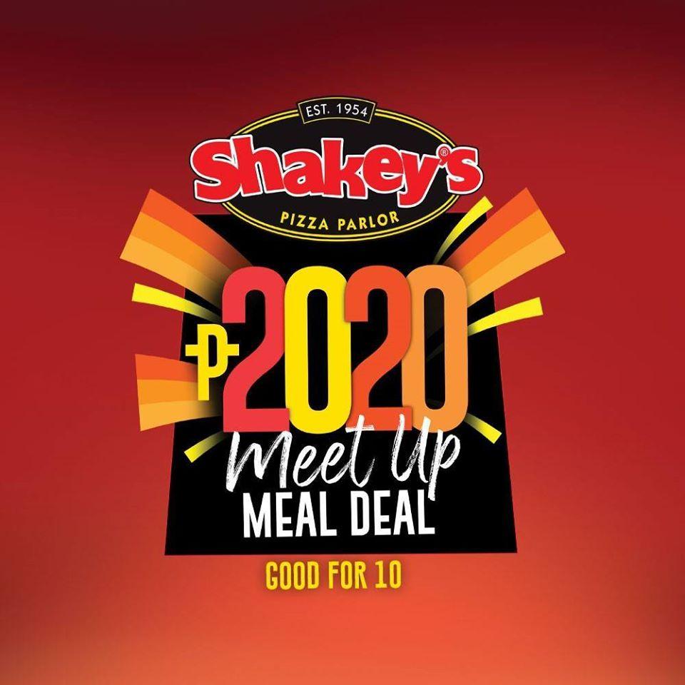 Shakey's Meet UP Meal Deal 2020