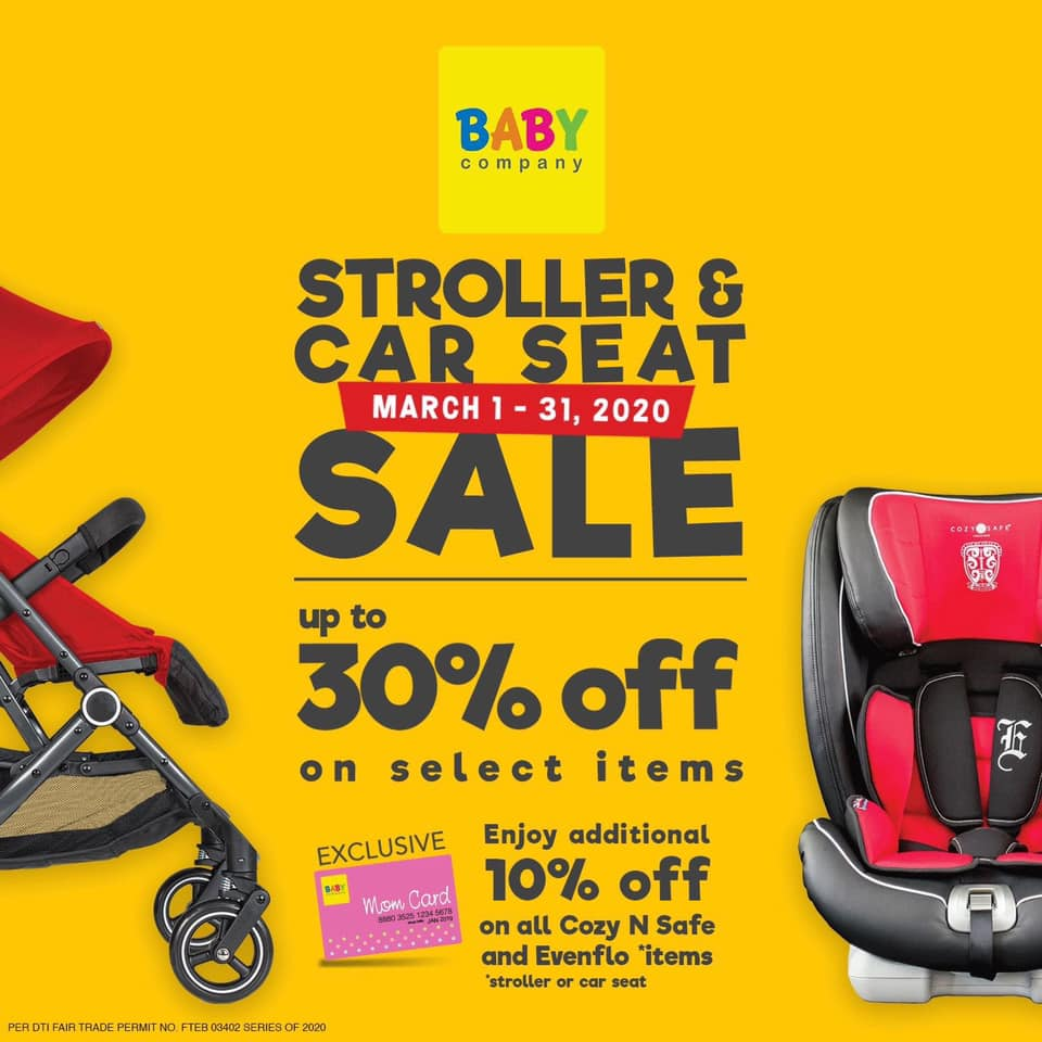the Stroller and Car Seat Sale