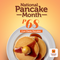 National Pancake Month