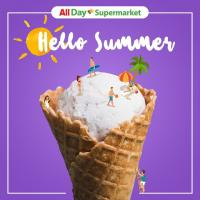 ALL DAY SUPERMARKET'S ICE CREAM PROMO