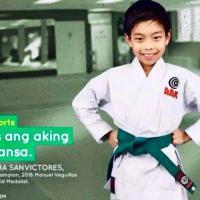 Start of AAK-Milo Summer Karatedo Clinic