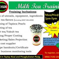 Milk Tea Training