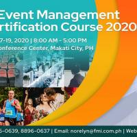 The 14th Event Management Certification Course