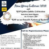 Asian Literacy Conference 2020